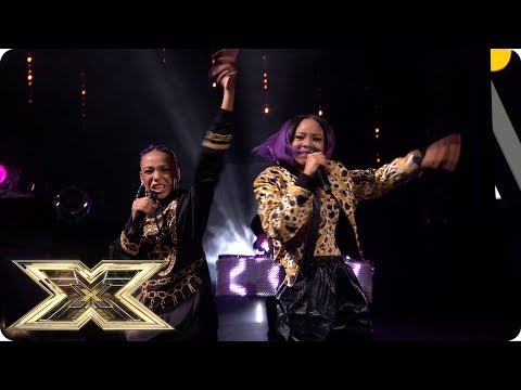Acacia & Aaliyah sing Act Your Age | Live Shows Week 5 | X Factor UK 2018