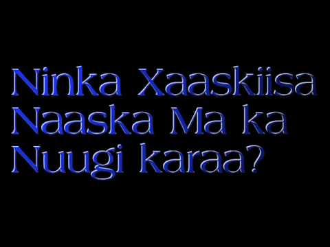 Ninka Xaaskiisa Naaskeeda ma nuugi karaa?