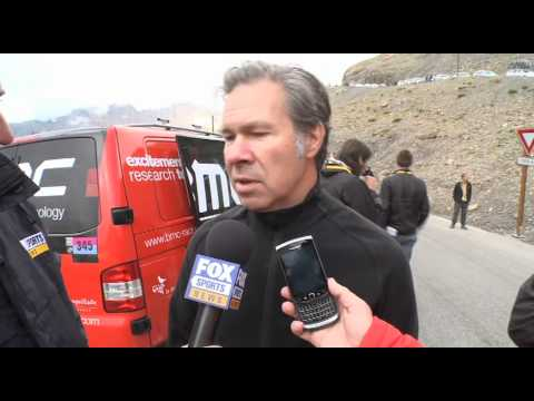 Stage 18 wrap with Jim Ochowicz - Tour de France 2011
