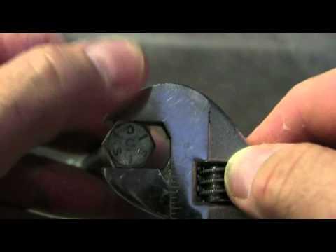 Adjustable Wrench Proper Use