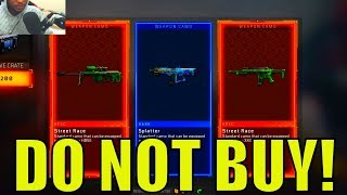 DO NOT BUY RESERVE CRATES in BLACK MARKET! - 75+ SUPPLY DROP OPENING COD BO4 (RESERVE CRATE COD BO4)