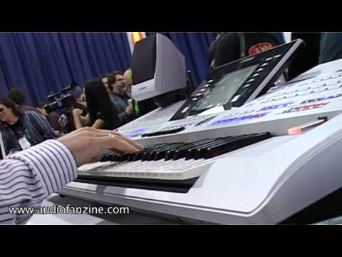 Yamaha Tyros 4 Video Demo [NAMM 2011]
