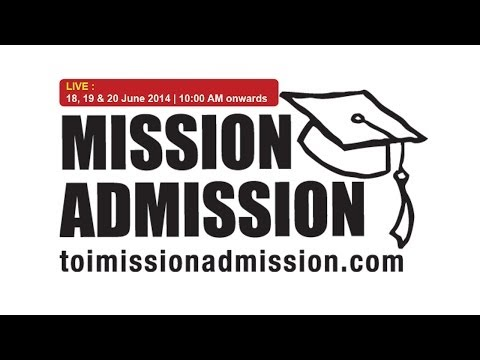 MISSION ADMISSION 2014 - THE TIMES OF INDIA : Seminar on Overseas Education