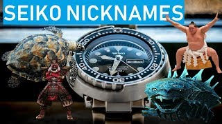 Top 10 Seiko Watches and their NickNames