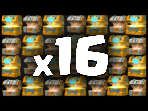 16x CHEST OPENING! | Clash Royale #8