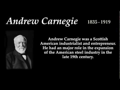 Andrew Carnegie - Top 10 Quotes