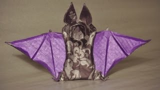 #5 Yakomoga - Origami Bat By Tom Defoirdt Tutorial (part 1 Of 2)
