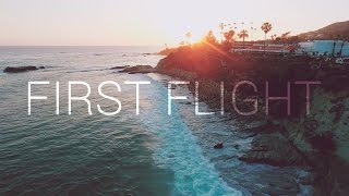 DJI Phantom 4 + Inspire 1 First Drone Flight!