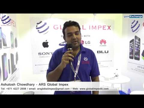 ARS Global Impex Electronics Trading LLC Interview   gsmExchange tradeZone @ GITEX 2015