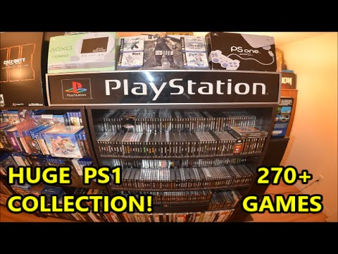 HUGE PLAYSTATION COLLECTION 270+ GAMES (PSone, PS1, PSX) RARE HIDDEN GEMS | Scottsquatch