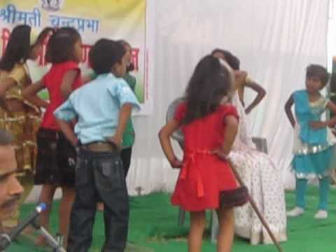 Pratheeksh & Suhani Mantri In A School Programme Dadi Amma.flv video
