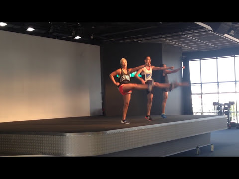 Les Mills Bodyattack® With Amy Styles & Lisa Osborne At Lesmills video