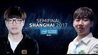StarCraft II - ByuN vs. Rogue [TvZ] - Semifinal - IEM Shanghai 2017