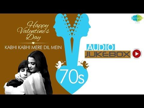 Best Romantic Hindi Songs Jukebox   Kabhi Kabhi Mere Dil Mein & More Hits   Love Songs Collection