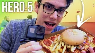 LA PIZZA DE McPOLLO DE 10$ - GoPro HERO5 Vlog