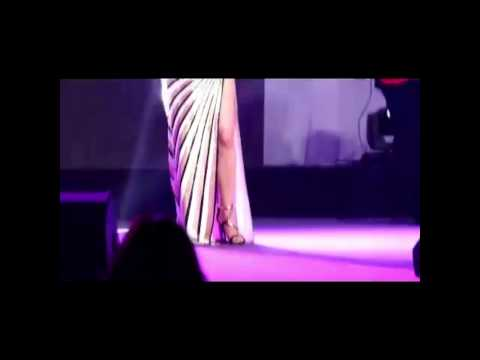 Haifa Wehbe Mega Sexy Striped Dress video
