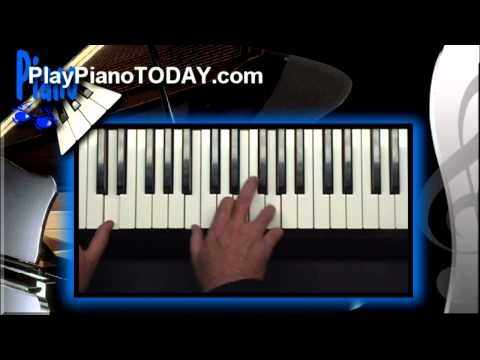 Piano Lessons - How to Match up Chords with any Melody (Overview 1 of 2)