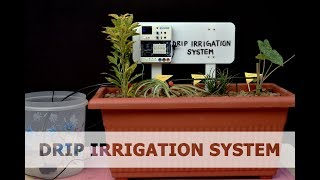 Drip Irrigation System | DIY Projects | STEMpedia