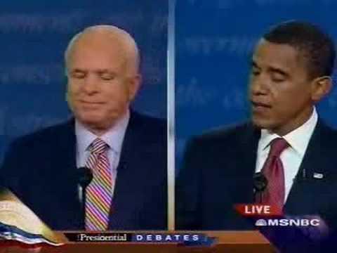 Obama to McCain:
