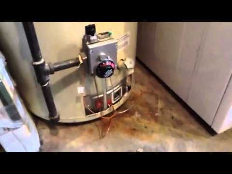 Hot Water Tank Pilot Goes Out Youtube