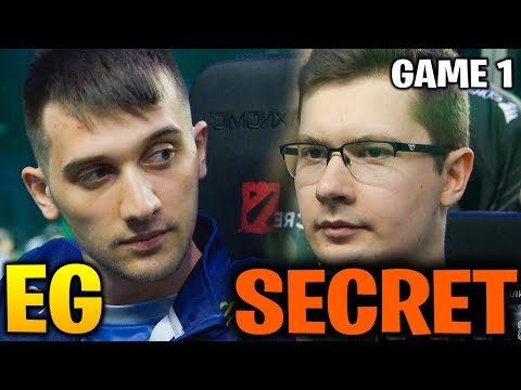 EG vs SECRET TI8 - ARTEEZY GONE MAD AFTER THIS - Game 1