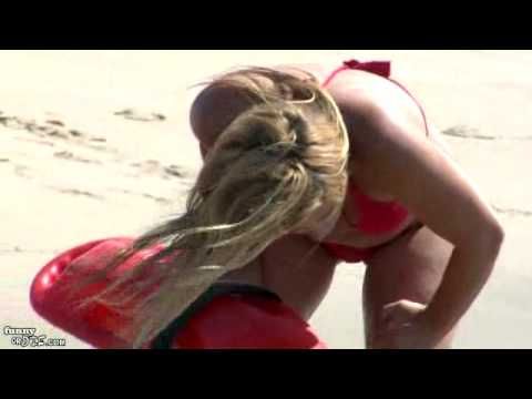 Nicole Eggert is back in Baywatch. Video