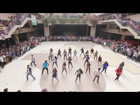 ICC World Twenty20 Bangladesh 2014 - Flash Mob North South University