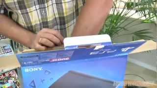 Unboxing PS3 Super Slim (HD) en HobbyConsolas.com