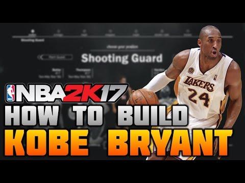 HOW TO MAKE KOBE BRYANT ON NBA 2K17! THE BLACK MAMBA BUILD (MyCareer)