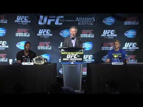 UFC 165 Tickets OnSale Presser