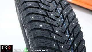 Winter tires: Stud or not to stud a winter tire?