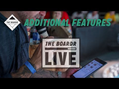 Additional Features: The Boardr Live Skateboarding and Action Sports Scoring System