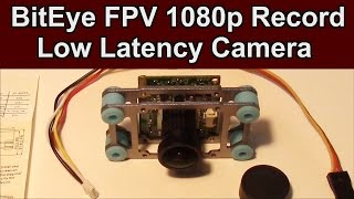 New BitEye FPV Low Latency Board Camera with 1080p Video Recorder