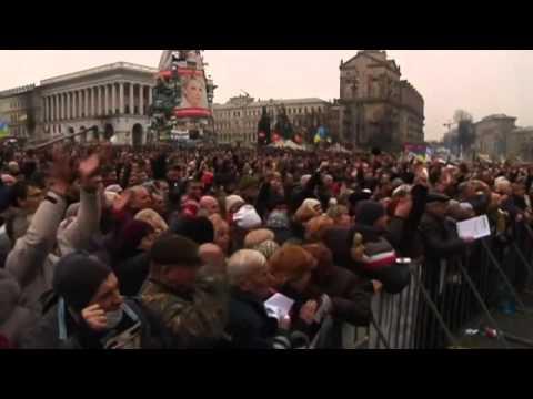 Ukraine protests  Viktor Yanukovych 'will not resign' as Ukraine's president