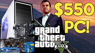 BUILD THE BEST $550 Gaming PC 2015! [GTA 5 Ready!]