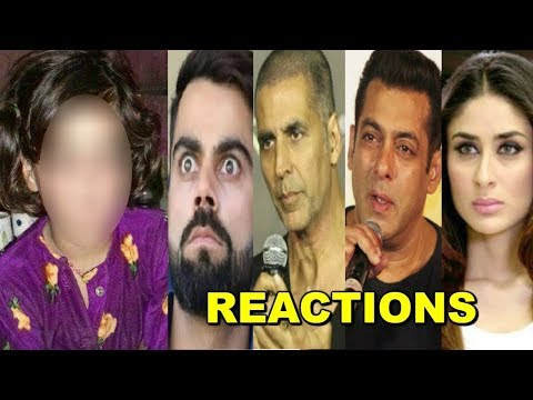 Bollywood Celebs SAD & ANGRY Reaction On Kashmiri Little Girl