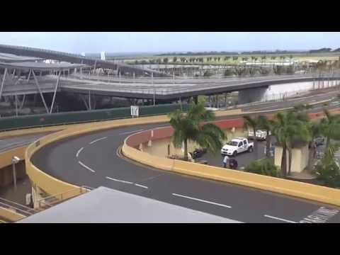 Mauritius. Sir Seewoosagur Ramgoolam International Airport. Plaisance - June 23, 2013.