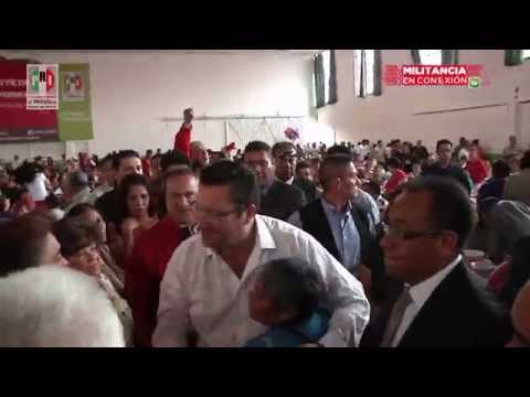 Es militancia de Ecatepec y Coacalco pilar del PRI mexiquense: RDR