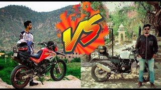 Day 13 Royal Enfield Himalayan Vs Hero Impulse Motorcycle Off roading ft. Aamir Nihal India