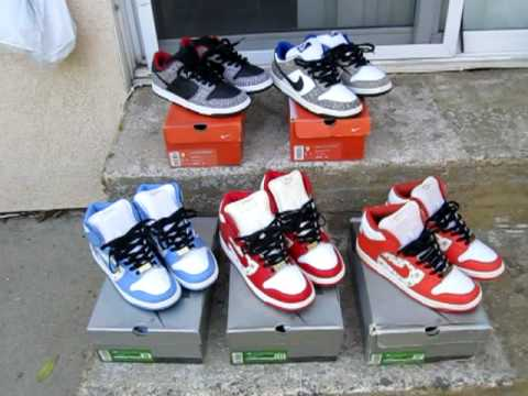 Marmatic28: Nike SB Supreme Dunk Collection