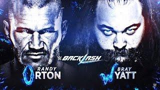 WWE SVR 2011 - Randy Orton vs Bray Wyatt - Backlash 2016 sim highlights