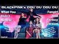 BLACKPINK's DDU DU DDU DU - What You Didn't Notice/Fangirl and Fanboy Version