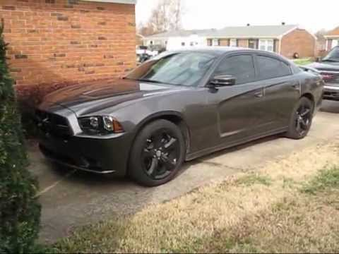 2013 Dodge Charger Sxt Blacktop Package Youtube