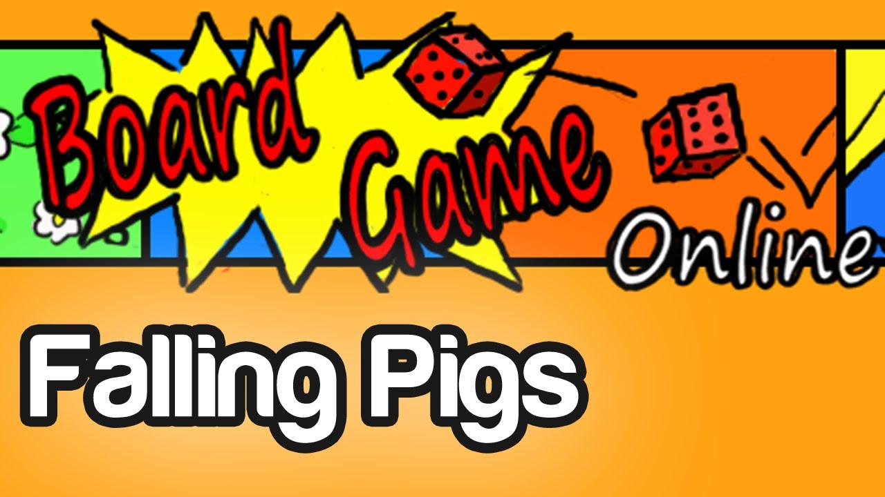 Falling Pigs Board Game