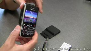eAccess High Capacity Battery Kit for BlackBerry Tour 9630 Video Overview