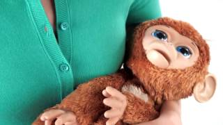 Hasbro - FurReal Friends - Cuddles My Giggly Monkey Pet