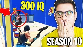 300 IQ KILL NELLA SEASON 10!! (Reazione Pro Player Fortnite)