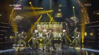 Live [HD] 140912 Super Junior MAMACITA  @ Music Bank