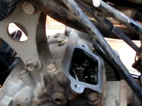 DR650 valve adjustment procedure