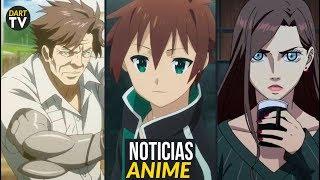 Konosuba 2019, Anime de Netflix y Pierrot, Psycho Pass, Eureka Seven y mas